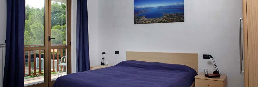 Appartamenti per vacanza in campeggio per 2/7persone Lago di garda