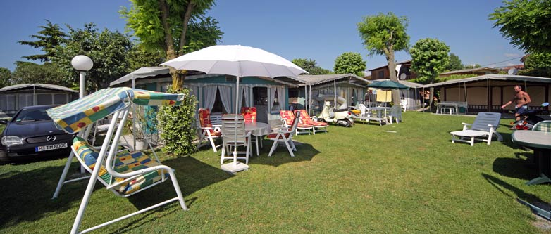Our plots camping Garden Tourist Lake Garda