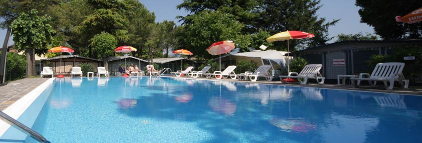 Services offered at the camping Garden Tourist Lake Garda Italy